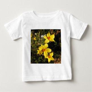 Sunny Yellow Flowers. Bidens. Baby T-Shirt
