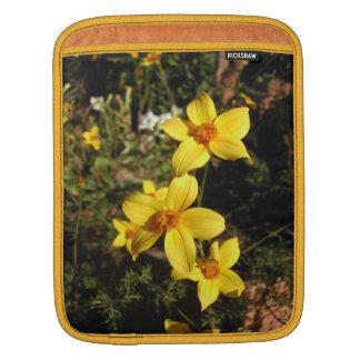 Sunny Yellow Flowers. Bidens. iPad Sleeve