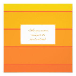 Sunny Yellow Paint Samples Invites
