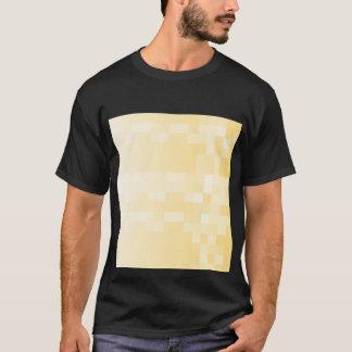 Sunny yellow pattern, squares design. T-Shirt