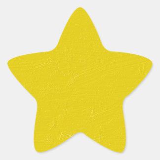 Sunny Yellow Star Sticker