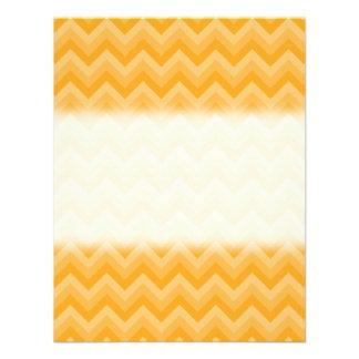 Sunny Yellow Zig Zag Pattern Announcement
