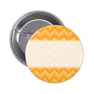 Sunny Yellow Zig Zag Pattern. 6 Cm Round Badge