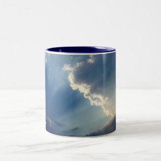 Sunrays Two-Tone Coffee Mug
