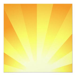 Sunrise 13 Cm X 13 Cm Square Invitation Card