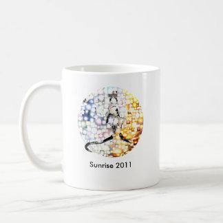 Sunrise 2011 - The Suns of the World for Japan Basic White Mug