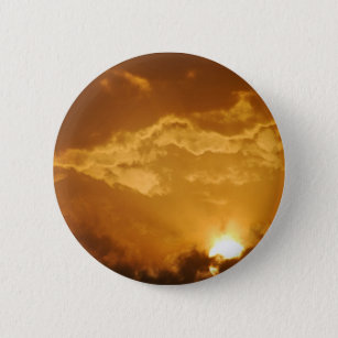 Sunrise 6 Cm Round Badge