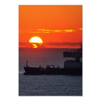 Sunrise 9 Cm X 13 Cm Invitation Card