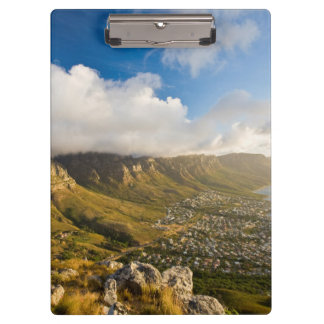 Sunrise Above Camps Bay And Table Mountain Clipboards