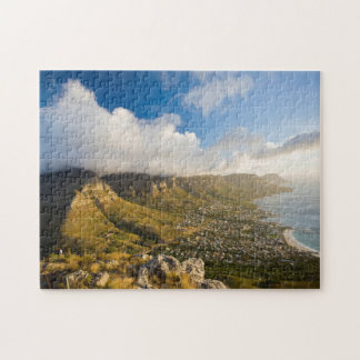 Sunrise Above Camps Bay And Table Mountain Jigsaw Puzzle