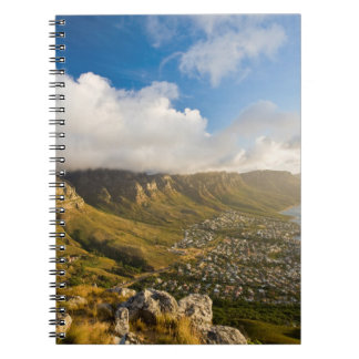 Sunrise Above Camps Bay And Table Mountain Spiral Notebook