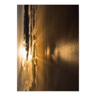 Sunrise above the Atlantic ocean Magnetic Invitations
