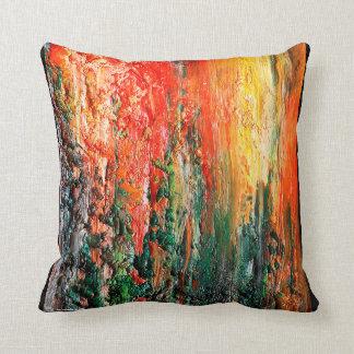 Sunrise Abstract Cushion
