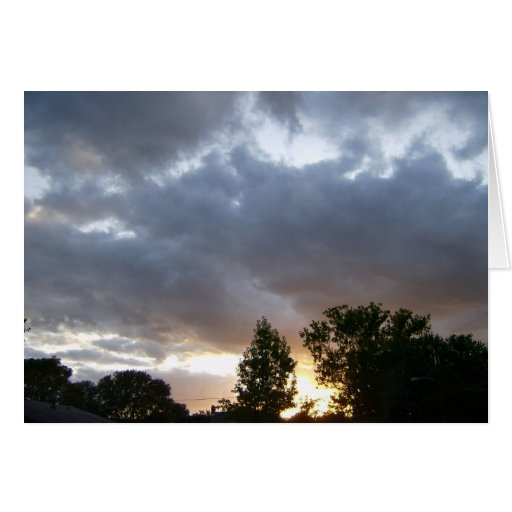 Sunrise Along Ohio River Valley Greeting Card