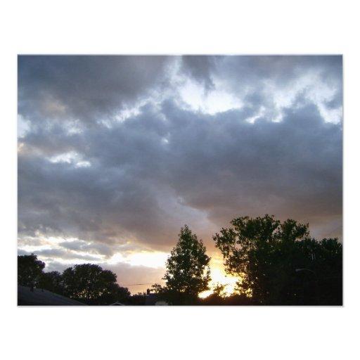 Sunrise Along Ohio River Valley Invitations
