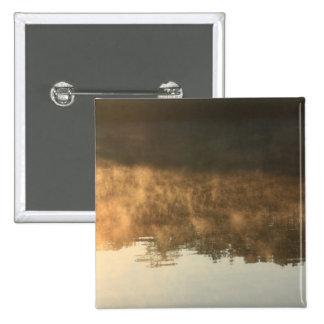 sunrise and morning fog pins
