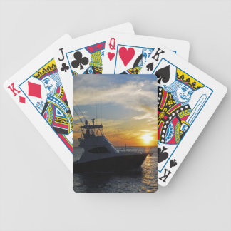 Sunrise and Sunset photos Bicycle Playing Cards