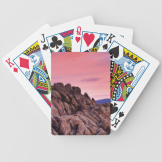 Sunrise at Alabama Hills Bicycle Playing Cards