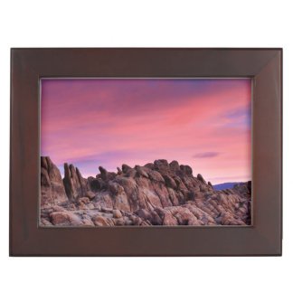 Sunrise at Alabama Hills Keepsake Box