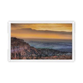 Sunrise at Bryce Canyon Acrylic Tray