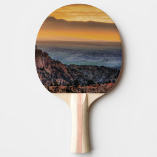 Sunrise at Bryce Canyon Ping Pong Paddle