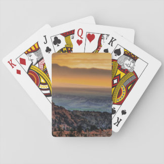 Sunrise at Bryce Canyon Playing Cards