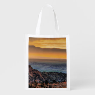 Sunrise at Bryce Canyon Reusable Grocery Bag