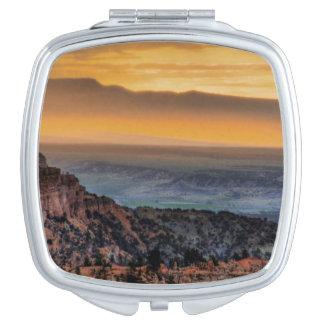 Sunrise at Bryce Canyon Travel Mirror