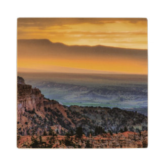 Sunrise at Bryce Canyon Wood Coaster