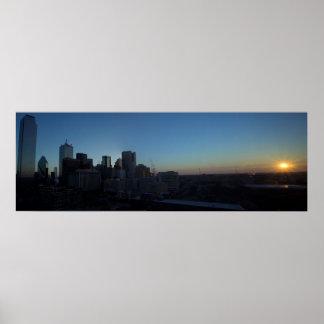 Sunrise at Dallas, Texas Poster