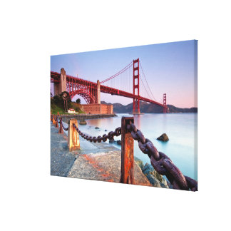 Sunrise At Fort Point Canvas Print