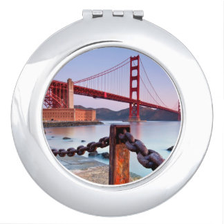 Sunrise At Fort Point Compact Mirrors