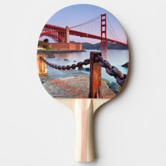 Sunrise At Fort Point Ping Pong Paddle