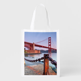 Sunrise At Fort Point Reusable Grocery Bag