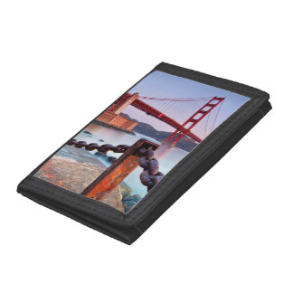 Sunrise At Fort Point Tri-fold Wallet