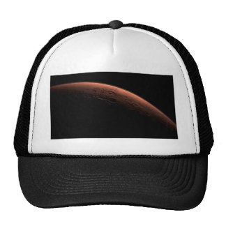 Sunrise at Gale Crater Planet Mars Trucker Hat