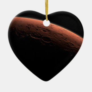Sunrise at Gale Crater Planet Mars Christmas Ornament