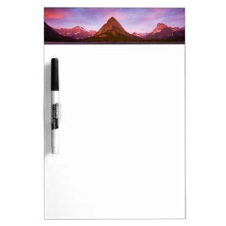 Sunrise at Glacier Dry Erase Board