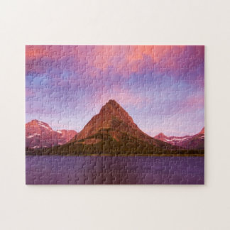 Sunrise at Glacier Jigsaw Puzzle