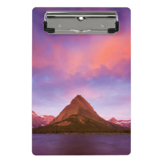 Sunrise at Glacier Mini Clipboard