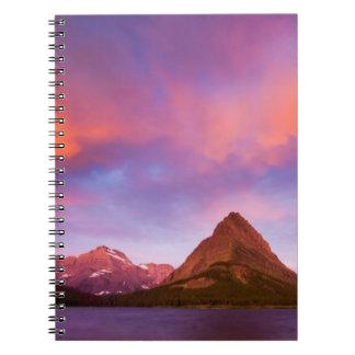 Sunrise at Glacier Notebooks