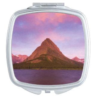 Sunrise at Glacier Vanity Mirror