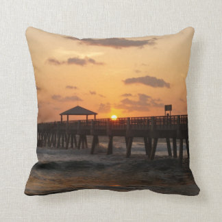 Sunrise at Juno Beach Cushion