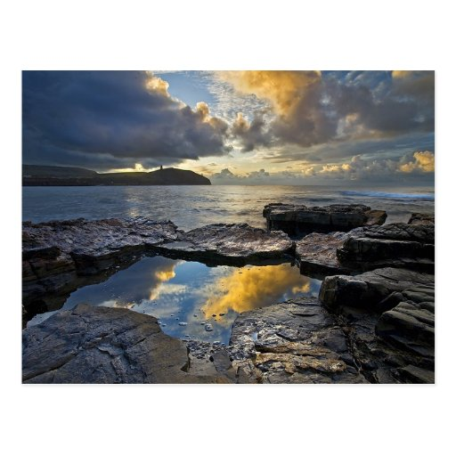 Sunrise At Kimmeridge Bay Post Cards
