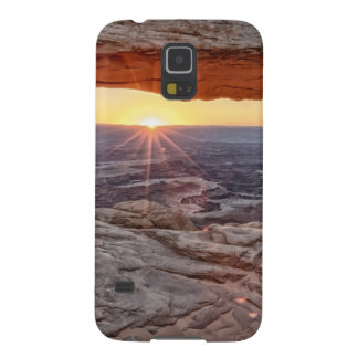Sunrise at Mesa Arch, Canyonlands National Park Galaxy S5 Cases