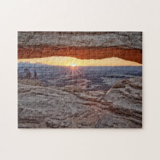 Sunrise at Mesa Arch, Canyonlands National Park Jigsaw Puzzle