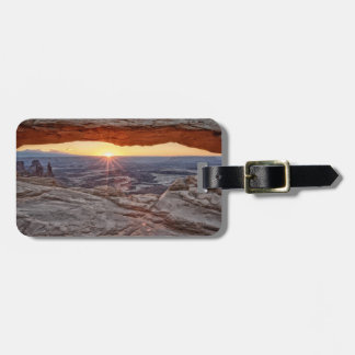 Sunrise at Mesa Arch, Canyonlands National Park Luggage Tag