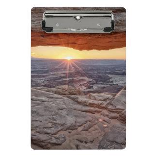 Sunrise at Mesa Arch, Canyonlands National Park Mini Clipboard