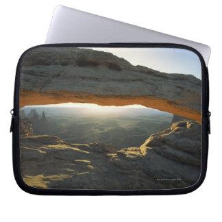 Sunrise at Mesa Arch Laptop Sleeve
