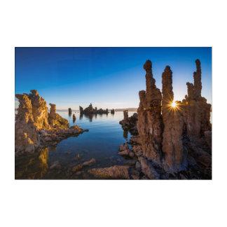 Sunrise at Mono lake, California Acrylic Print